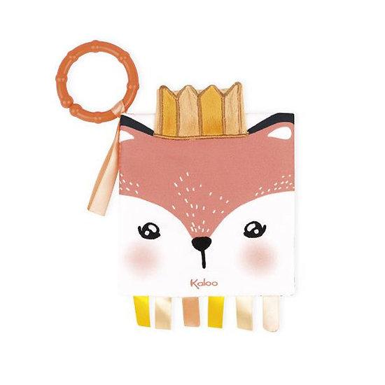 Livre tissu bébé - Le renard colérique