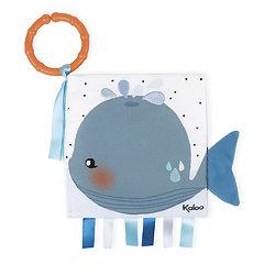 Livre tissu bébé - Le baleineau triste