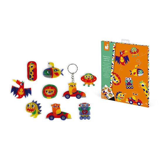 Plasti fou - Magnets et porte clés