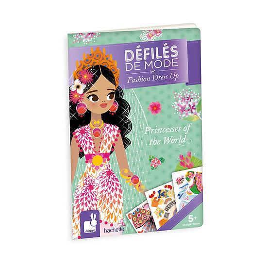 Cahier de mode - Les princesses du monde entier