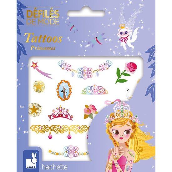 Tatouage éphémère enfant Princesse