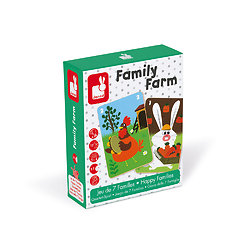 Jeux de 7 familles simplifié - Family farm