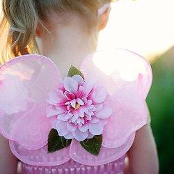 Deguisement bébé Ailes de papillon - Blossom rose