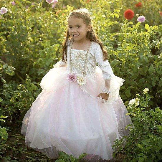 Déguisement fille princesse Deluxe Rose et Or - 5/7 ans