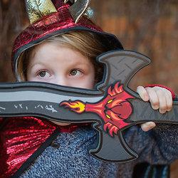 Accessoire costume enfant - Epée en mousse Dragon