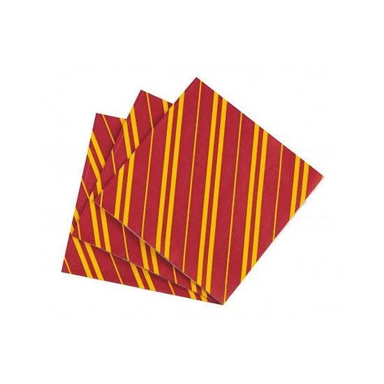 12 serviettes en papier anniversaire style Harry Potter