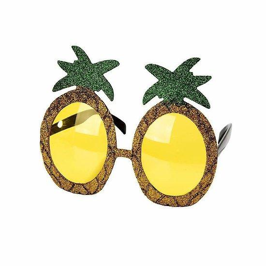 Lunette déguisement Ananas