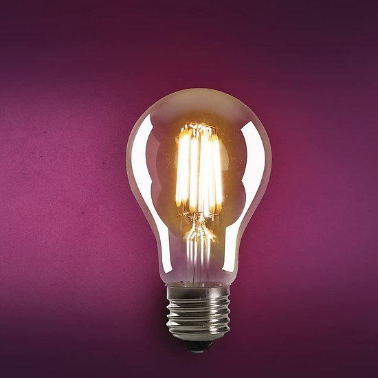 Ampoule led filament style Edison E27 4W - Bulbe ambré