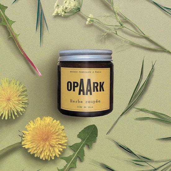 Bougie Artisanale Opaark - Herbe coupée