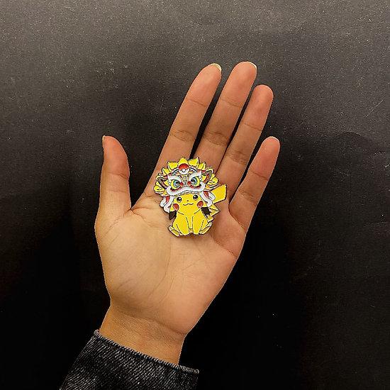 Pin's original Pikachu