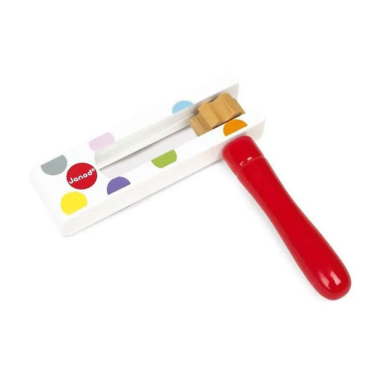 Crécelle - Instrument de musique enfant