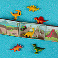 La tribu des dinosaures - 6 dinos en boite