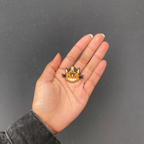 Pin's original Chat-Bus - Mon voisin Totoro