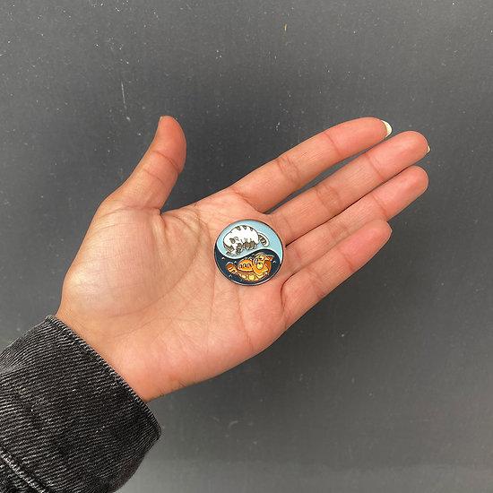 Pins original Ying Yang - Chatbus / Appa Avatar