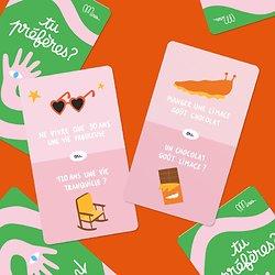Jeu de cartes - Dilemmes absurdes