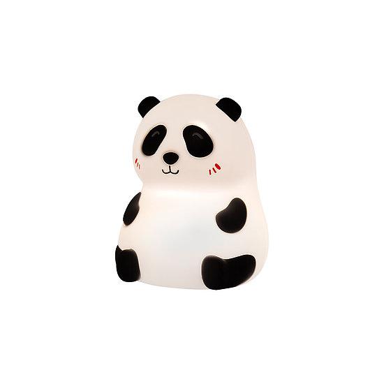 Petite veilleuse tactile rechargeable en silicone souple - Panda