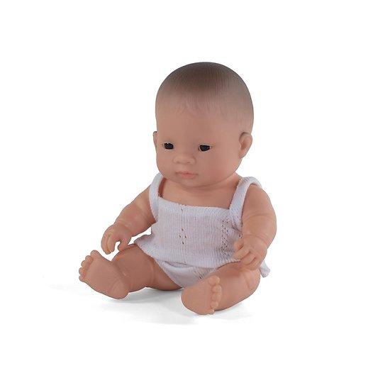 Poupée Miniland - Fille Asiatique 21 cm