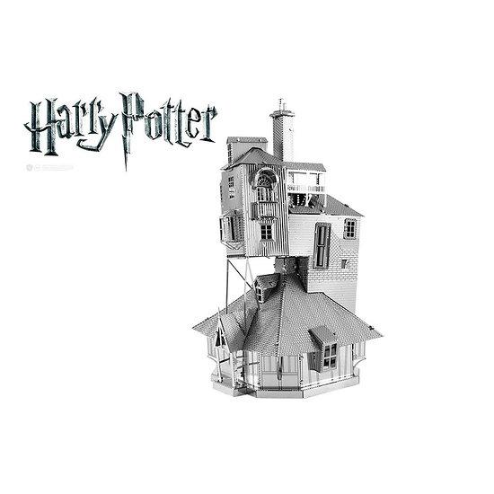 Maquette Metal Earth Harry Potter - Le Terrier - La maison de famille des Weasley