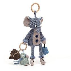 Jouet bébé Jellycat - Cordy Elephant - Activity Toy - SRA2E