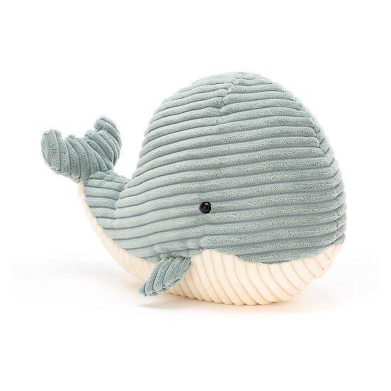 Peluche Jellycat Cordy La Baleine - Cordy Roy Whale – Medium ROY3W 23cm