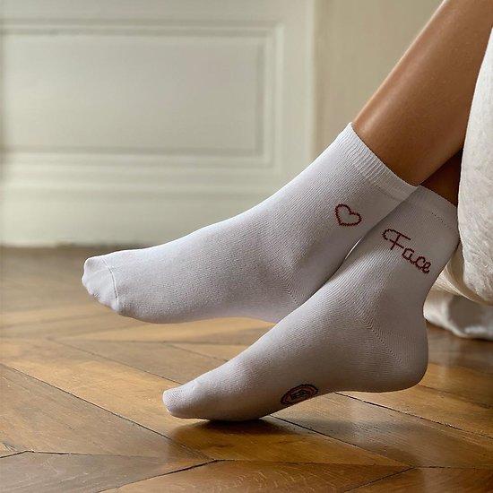 Chaussettes Femmes Pile ou Face - Les Attachantes - Taille 39/42