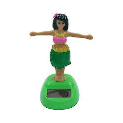 Figurine solaire danseuse hawaienne