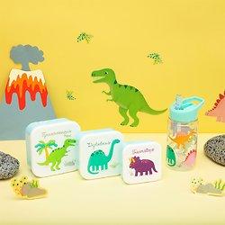 Boite à gouter Dinosaures - Lot de 3
