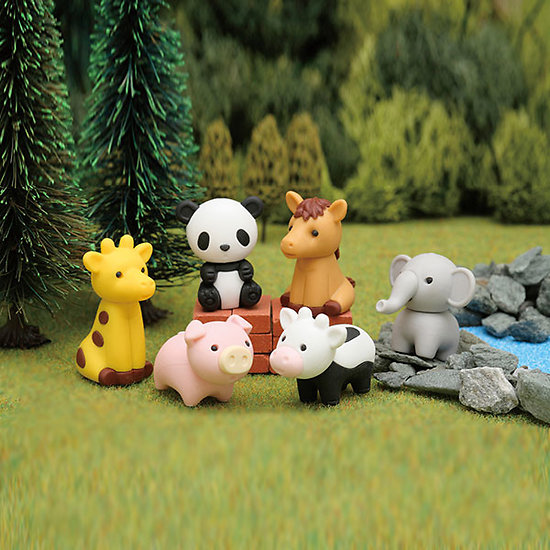 Gomme Iwako Animaux du Zoo