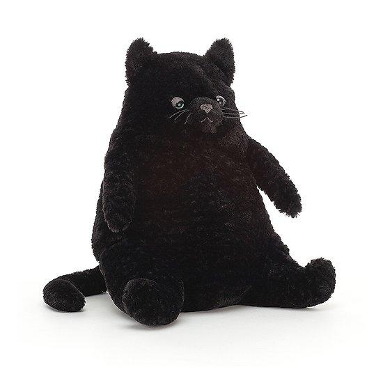 Peluche Jellycat chat – Amore Cat Black - AM2CB 26cm