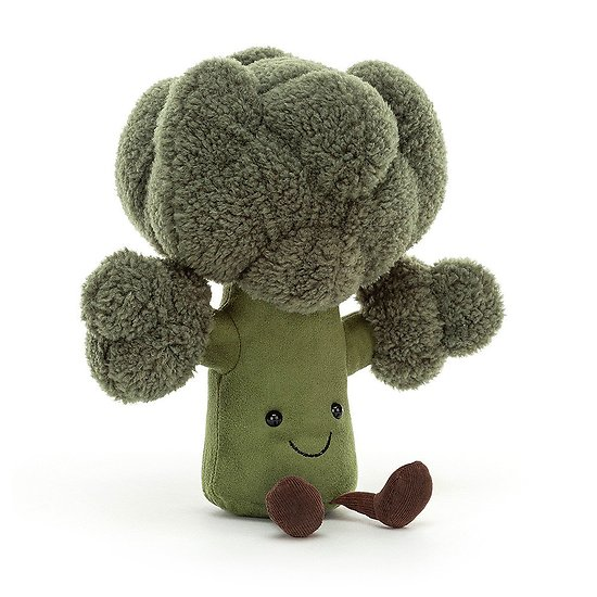 Peluche Jellycat Légume Broccoli – Amuseable Broccoli - A2BRO 23 cm