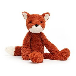 Peluche Jellycat Renard– Smuffle Fox- SMF3F 36cm