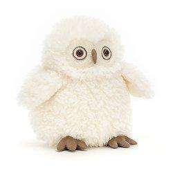 Peluche Jellycat Hibou – Apollo Owl - A2WL 26 cm