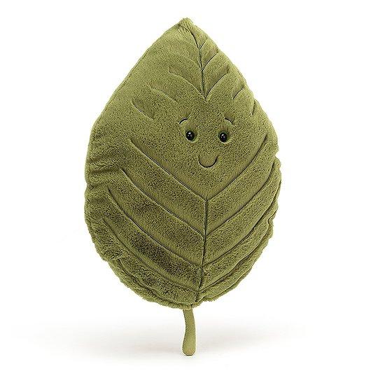 Peluche Jellycat Feuille de Hêtre - Woodland Beech Leaf Little - LEAF6B 20cm