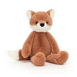 Peluche Jellycat Renard – Beckett Fox Small - BECK6F 25 cm