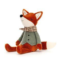 Peluche Jellycat Renard - Riverside Rambler Fox – RIV3FX 33cm