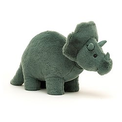 Peluche Jellycat Triceratops – Fossilly Triceratops - FOS2T 17 cm