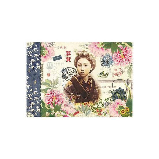 Cahier illustré - Geishas - Gwenaëlle Trolez Créations