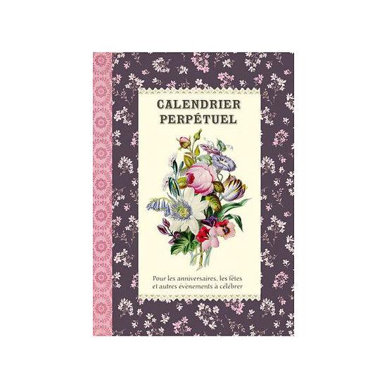 Calendrier perpétuel Bouquets - Gwenaëlle Trolez Créations