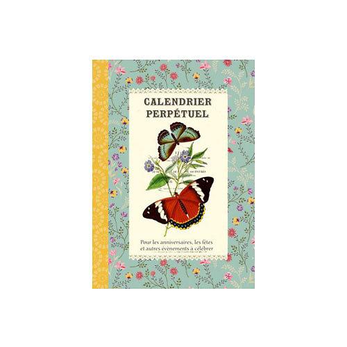 Calendrier perpétuel Papillons - Gwenaëlle Trolez Créations
