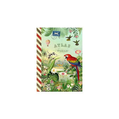 Carnet de notes Globe Trotter - Gwenaëlle Trolez Créations