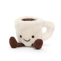 Peluche Jellycat Tasse à café expresso - Amuseable Espresso Cup - A6EC  10 cm