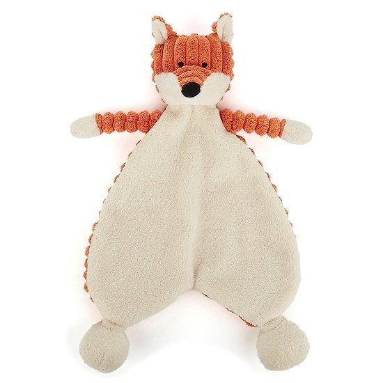 Doudou plat bébé Jellycat Renard - Cordy Roy Baby Fox Soother - SRS4FX