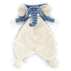 Doudou plat bébé Jellycat Elephant - Cordy Roy Baby Elephant Soother - SRS4EL