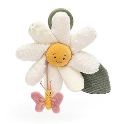 Jouet de poussette Jellycat - Fleury Daisy Activity Toy -  FLEU2DAT 20 cm
