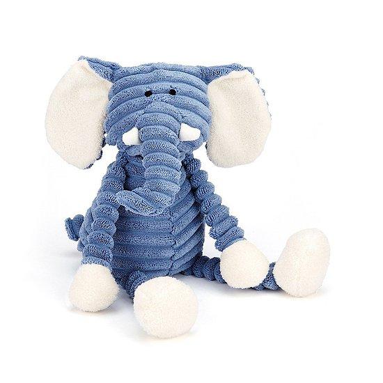Peluche Jellycat - Cordy Roy Bébé Éléphant- Cordy Roy Baby Elephant -SR4EL 34 cm