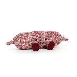 Peluche Jellycat Saucisse Amusante - Amuseable sausage- A2SAUS 5 cm