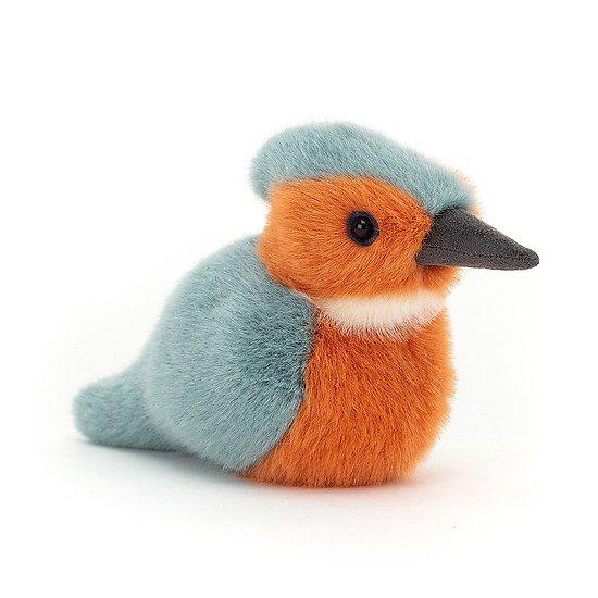 Peluche Jellycat Martin-Pêcheur D'oiseaux - Birdling Kingfisher- BIR6KF 10 cm