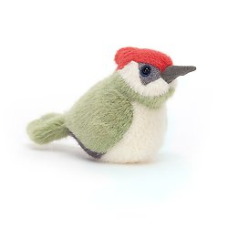 Peluche Jellycat Pic oiseau- Birdling Woodpecker- BIR6WO 10 cm