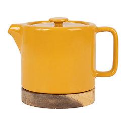 Théière avec filtre Nordika Jaune moutarde - 70 cl