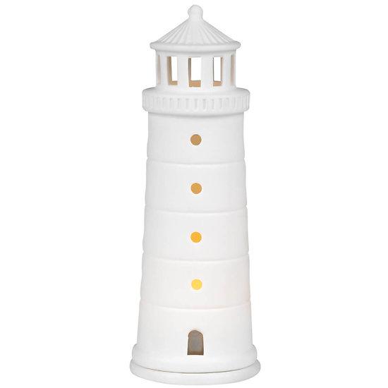Photophore en porcelaine - Le phare LICHTHAUS